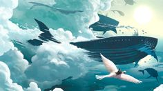 giant monster wallpaper part 2 - an image from Flight comics!!