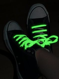 Glow in the Dark Shoelaces…