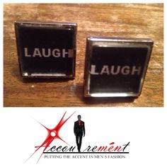 Laugh Cufflinks