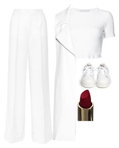 """""""Untitled #5399"""" by adi-pollak ❤ liked on Polyvore featuring Dolce&Gabbana, Ash, Rosetta Getty and Cushnie Et Ochs"""
