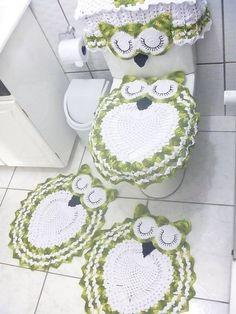 303 Fantastiche Immagini Su Arredo Bagno Uncinetto Bathroom Mat