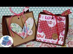 Bolsas de papel para el regalo de San Valentín | Manualidades