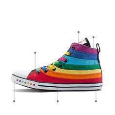 Colorfull Rainbow Canvas Women Shoes 2016 High Top Fashion Female Flat Casual Shoes Sapatas De Lona. Click visit to buy #Women #Vulcanize #Shoes #WomenShoes #VulcanizeShoes