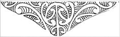 Design on envelope flap — ink sketch — Alexander Turnbull Library Art Room: — Robley's designs for the flaps of envelopes often imitated the forehead titi designs of moko Maori Designs, Tattoo Designs, Tattoo Ideas, New Tattoos, Tribal Tattoos, Tattoo Maori, Maori Patterns, Print Patterns, Library Art