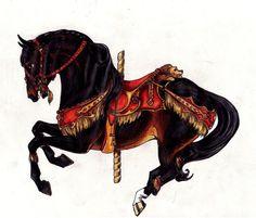Gryffindor Carousel by ~lunatteo on deviantART