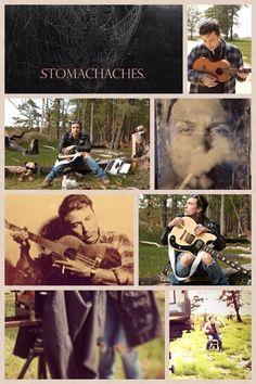 Frank Iero solo album, Stomachaches, collage