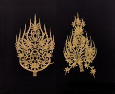 백제 무령왕과 비의 금관장식 금사징금수 Korean Art, Korean Traditional, Ancient Jewelry, Ancient Artifacts, Brand Packaging, Ropes, Luxury Branding, Asia, Arts And Crafts