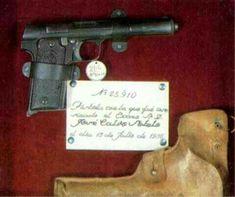 Pistola con la que asesinaron a Calvo Sotelo
