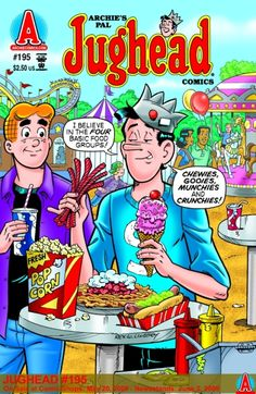 Archie's Pal Jughead 195, Archie Comic Publications, Inc. https://www.pinterest.com/citygirlpideas/archie-comics/