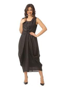 Rochie eleganta cu sclipici R101 negru