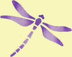 dragonfly stencils | dancing dragonfly stencil comes with one overlay ...