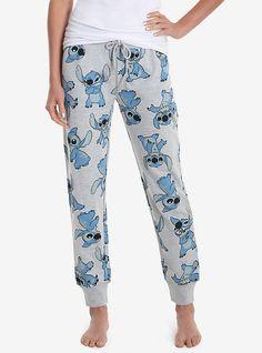 Disney Lilo   Stitch Allover Print Womens Joggers - BoxLunch Exclusive 26effd7a0
