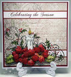 dutchess: A Sunday christmas card..... #HeartfeltCreations