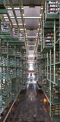 Jose Vasconcelos Library — Mexico City, Mexico   49 Breathtaking Libraries From All Over The World