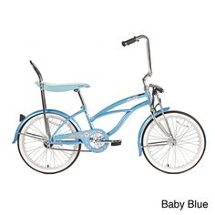 @Overstock - Retro and custom, the Micargi Hero Lowrider is a true classic. This bike has 20-inch wheels on alloy rims, with a sturdy Hi-Ten steel frame.http://www.overstock.com/Sports-Toys/Micargi-Girls-Hero-Cruiser-Bike/7524381/product.html?CID=214117 $174.99