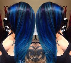 Midnight blues by the real omgloveyourhair