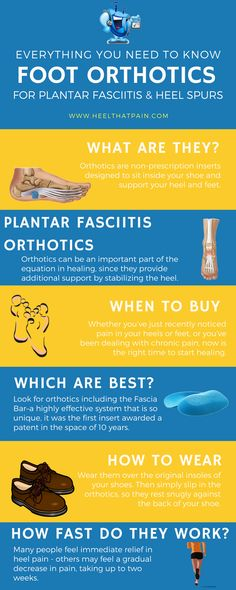 Plantar fasciitis inserts are one of the best remedies out there. Learn how to use your orthotics properly to eliminate heel pain.