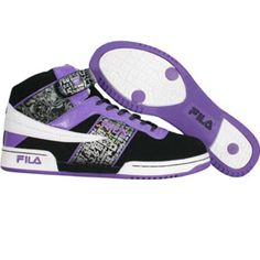 Fila Womens F-13 (black / dklvnd / white) FW03779-005 - $64.99