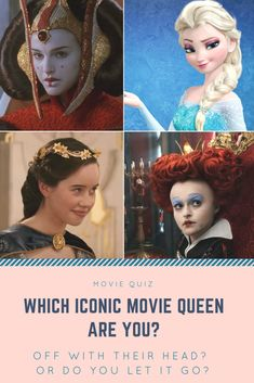 For many years, we have seen many different types of queens on the big screen. Which of these famous fictional rulers are you most like? You will only find out if you take this quiz!
