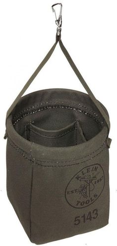 Details about Klein Tools 12 In. Linemans Tapered-Wall Canvas Work ...
