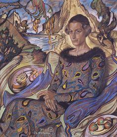Witkacy (Stanisław Ignacy Witkiewicz) Portret Marii Nawrockiej | 1925