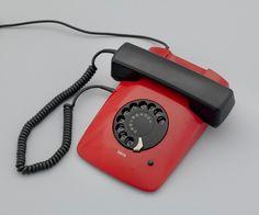 "ETA 80 Telephone  Davorin Savnik (Slovenian, born Yugoslavia, 1929)    1979. Plastic and other materials, 2 7/8 x 8 3/4 x 10"" (7.3 x 22.2 x 25.4 cm). Gift of Matej Andraž Vogrincic and Carniola Antiqua"