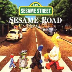 The Beatles: Abbey Road Album Cover Parodies. A list of all the groups that have released album covers that look like the The Beatles Abbey Road album. Abbey Road, Jim Henson, Ringo Starr, Paul Mccartney, Miss Piggi, The Beatles, Beatles Art, Die Muppets, Historia Do Rock