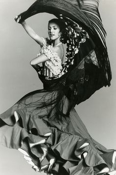 My mother was a flamenco dancer she stopped when she had babies...
