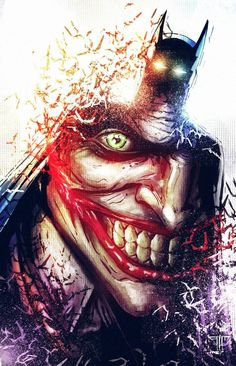 Artwork by Amir Mohsin  #Batman #Joker