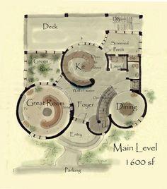 Castle House Plan Kinan II - aboveallhouseplans.com