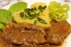 Mashed Potatoes, Pork, Food And Drink, Beef, Chicken, Cooking, Ethnic Recipes, Whipped Potatoes