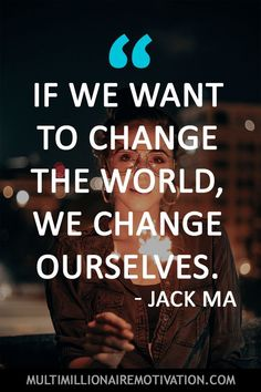 33 Jack Ma Quotes on Inspirational Quotes About Success, Uplifting Quotes, Success Quotes, True Quotes, Words Quotes, Sayings, Change Quotes, Quotes To Live By, Jack Ma