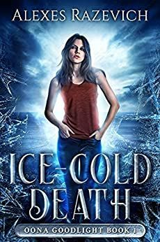Murder and dark magic are just the beginning. Oona Goodlight just wants to get through hockey practice, but a dead body on the ice means practice is canceled. A secret psychic and empath, she is shocked by the brutal death and shocked again when she witnesses the murder—and the killer—in a vision. Fantasy Book Covers, Fantasy Books, Book Cover Design, Book Design, Book Series, Book 1, Book Reader, Science Fiction, Mystery