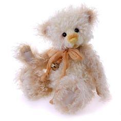 Sherbert Lemon Mohair Teddy Bear ~ Charlie Bears