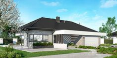 Projekt domu HomeKONCEPT-26 | HomeKONCEPT Modern Family House, Good House, Building A House, Gazebo, Architecture Design, House Plans, Outdoor Structures, House Design, Interior
