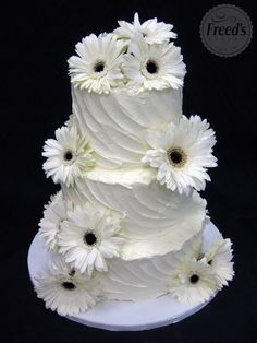 Indescribable Your Wedding Cakes Ideas. Exhilarating Your Wedding Cakes Ideas. Daisy Wedding, Floral Wedding Cakes, White Wedding Cakes, Sunrise Wedding, Cake Wedding, Wedding Shoes, Summer Wedding, Cupcakes, Cupcake Cakes