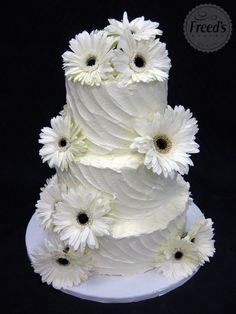 Floral Wedding Cake | Freed's Bakery Las Vegas