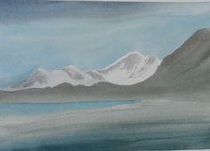 Artist: Toni Onley, Title: Entering Glacier Bay