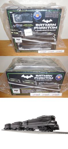 Starter Sets and Packs 81042: Lionel 6-81470 Dc Comics Batman Phantom Lionchief Engine Toy Train Set O Gauge -> BUY IT NOW ONLY: $294.95 on eBay!