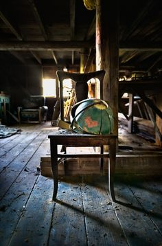 The mystery & appeal of old attics...photo byjody9