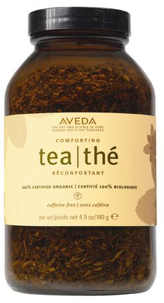 Aveda Comfort Tea - peppermint and licorice root. Let us offer you a moment of wellness