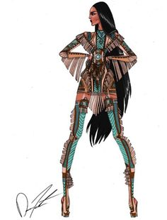 'The Drums of War' #Pocahontas by @darenj22| Be Inspirational ❥|Mz. Manerz: Being well dressed is a beautiful form of confidence, happiness & politeness