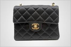 "Chanel Mini Flap  ""We create a product nobody needs but people want.""- Karl lagerfeld"