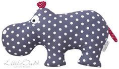 """Kuscheltiere - the hippo """"HUGO"""" - ein Designerstück von…"""