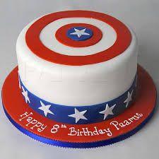 Hulk Birthday Parties, Avengers Birthday Cakes, Toddler Birthday Cakes, Captain America Cake, Captain America Birthday, July 4 Birthdays, Marvel Cake, Luxury Cake, Superhero Cake
