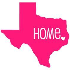 Texas Car Decal North Carolina Car Decal Texas Sticker Texas Home... ($2.50) ❤ liked on Polyvore featuring home, home decor, home & living, home décor, light pink, blush pink home decor, car interior decor, monogrammed home decor, personalized home decor and outside home decor