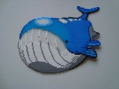 Wailord with Hama beads by ~KimiMonsterKitty on deviantART