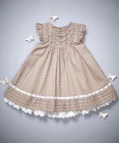 GIDGET LOVES MILO Girls Size 4 LAUREL Dot Dress Pink Leggings Set Outfit