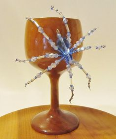 Beaded Spider  Spider Decoration Spider Jewelry Brooch by Starfall, $12.00