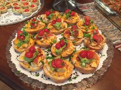 Chipotle Chicken Crostini - Catering by Debbi Covington - Beaufort, SC